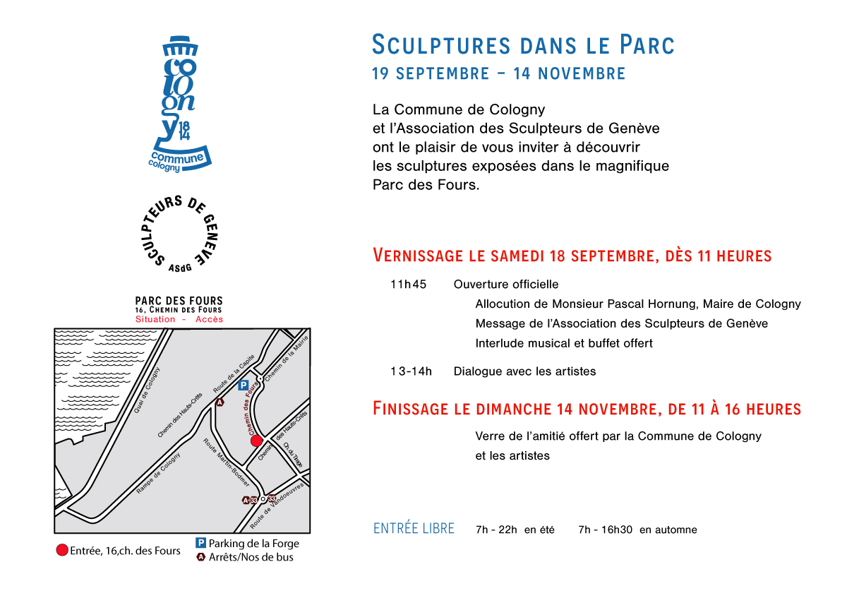 Exposition collective sculptures